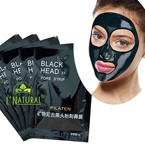Blackhead Removal Solution. Nose Cleaning -Deep Cleansing Puritying Peel-Off Blackhead Acne Treatment - 50 individual mask by SiestaTime