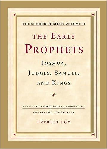 Echtbuch pdf kostenlos herunterladen The Early Prophets