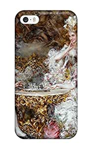 Awesome Painting Flip Case With Fashion Design For Iphone 5/5s