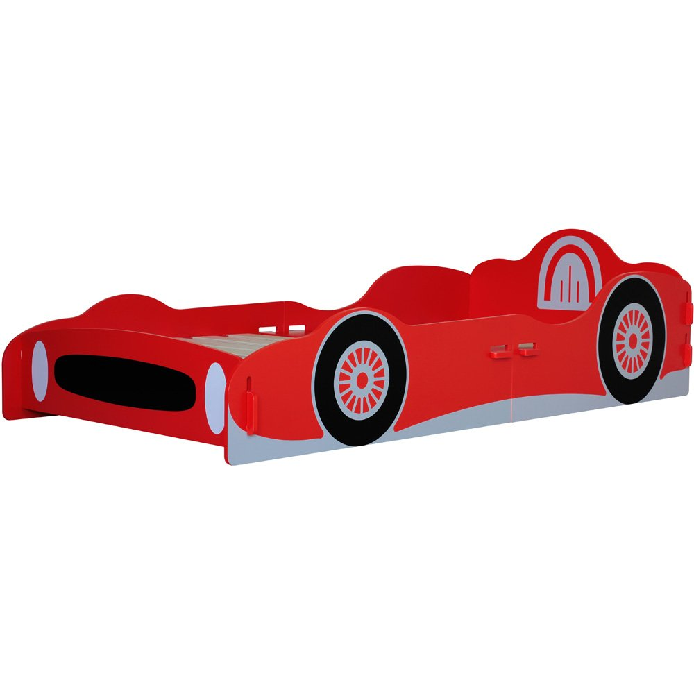 Kidsaw Racing Car Single Bed - 1 box RCB