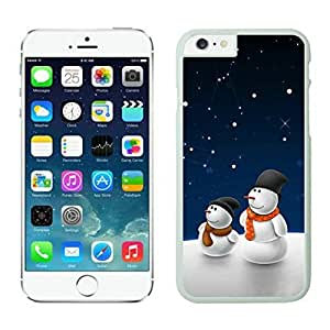 The Christmas Tree On Christmas Day Lovely Mobile Phone Protection Shell for iphone 5s Case-Unique Soft Edge Case(2015),Christmas snowman iPhone 5s Case 9 White