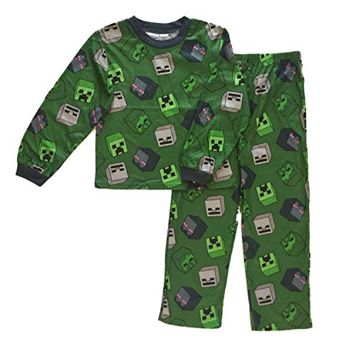 Minecraft Creeper and Enderman Boys Pajamas 4-12 (8)