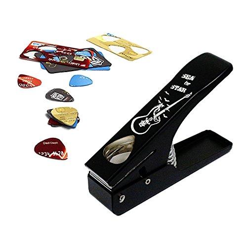 Picks Maker Tool for Guitar Ukulele DIY Standard Pick with Pick Maker/Pick Storage Bag