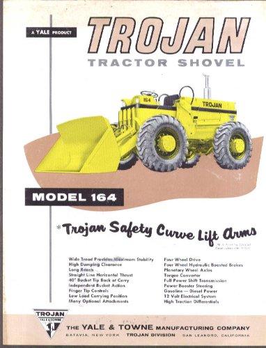 Yale & Towne Trojan Tractor Shovel Model 164 sell sheet (164 Tractors)