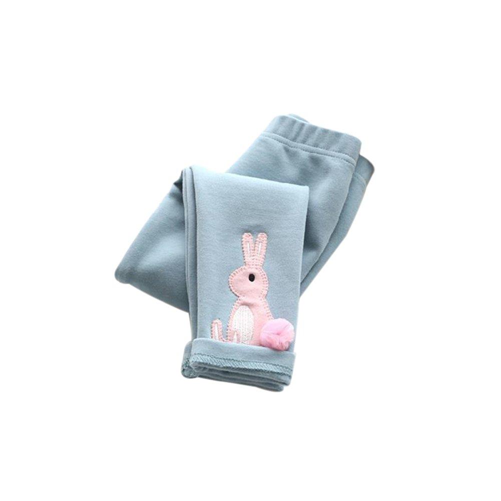 【激安セール】 Weixinbuy幼児ガールズベビーLovely ブルー RabbitタイツKidsストレッチレギンスパンツ M M B01MFARVPB ブルー B01MFARVPB, 芦刈町:33710472 --- domaska.lt