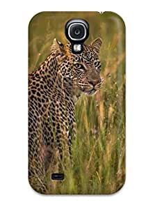 Waterdrop Snap-on Leopard Case For Galaxy S4