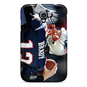 Shock-dirt Proof New England Patriots Cases Covers For Galaxy S4 Black Friday
