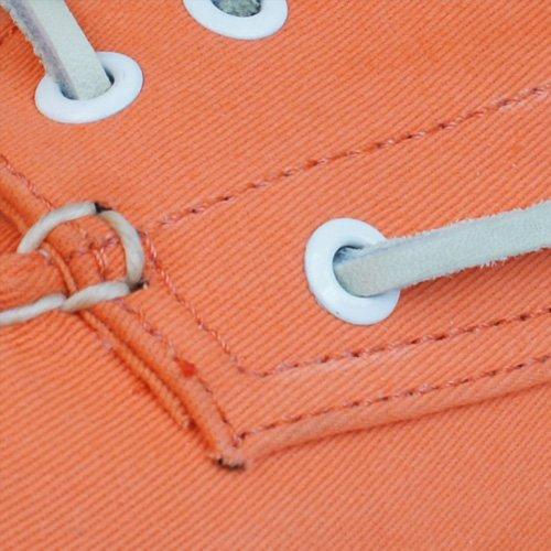 Sperry Top Sider A / O 3 Eye Canvas Zapatillas De Natación / Cubierta - Naranja Naranja