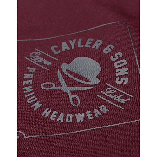Cayler&Sons Herren Umhängetasche CL Gymbag Owners - maroon
