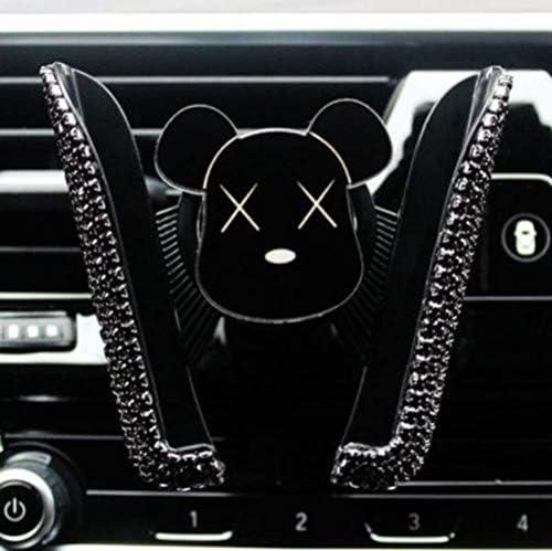 自動車電話ホルダー携帯電話ホルダーブラケットカー空気出口バックル型車の携帯電話の支持フレームかわいい女の子