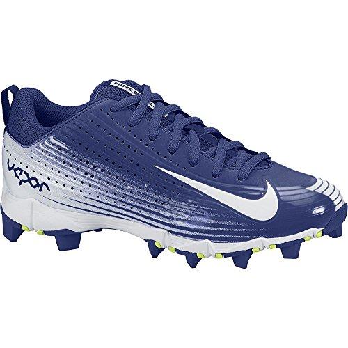 Nike Mens Vapor Keystone 2 Baseball Cleat Rush Blauw / Wit