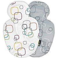 4moms NEW reversible and machine washable newborn insert - soft, plush fabric