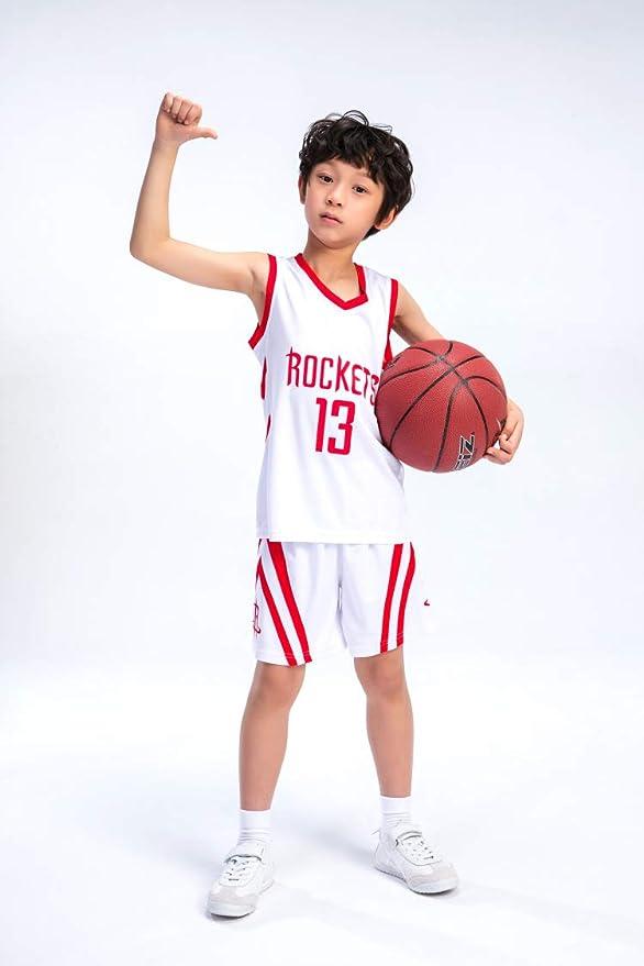 PANGOIE Camiseta de Baloncesto de Verano NBA Jersey Houston ...