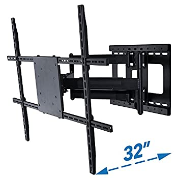 Image of Full Motion TV Wall Mount with 32 inch Long Extension for 42 to 80 inch TVs TV Ceiling & Wall Mounts