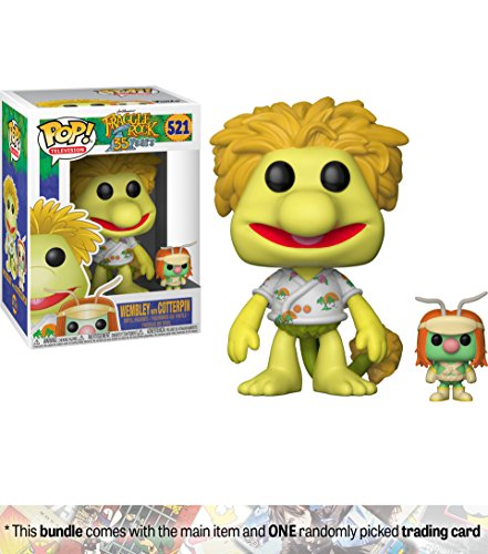 Fraggle Rock Puppets (Wembley w/ Cotterpin: Funko POP! TV x Fraggle Rock Vinyl Figure + 1 American Cartoon Themed Trading Card Bundle [#521])