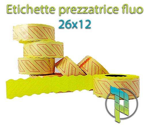 Palucart etichette prezzatrice segnaprezzo 26x12 etichette prezzi Palucart®
