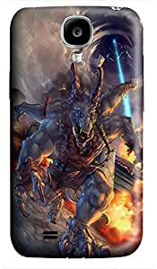 Samsung S4 case custom Evil Monster Art 3D cover custom Samsung S4