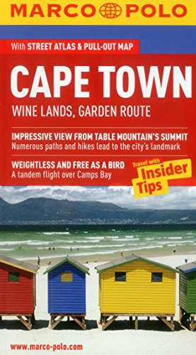 Cape Town Wine Lands Garden Route Marco Polo Guide (Marco Polo Guides)