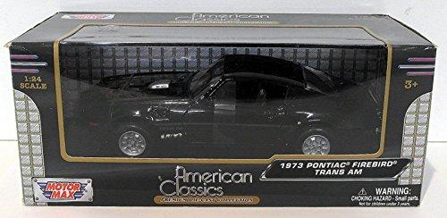 1973 Pontiac Firebird Trans Am Black 1/24 by Motormax 73243