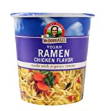 Dr. McDougall's Right Foods Ramen Chicken Soup with Noodles, 1.8-Ounce (Pack of 6)