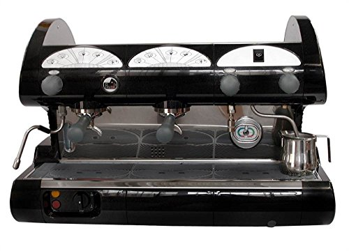 la Pavoni BAR-STAR 2V-R -  2-Group Commercial Espresso Cappuccino machine. Red (Commercial Espresso Machine)