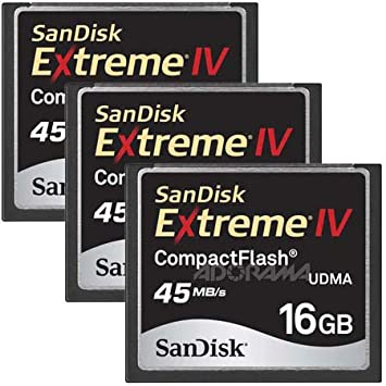 Amazon.com: SanDisk 16 GB Extreme IV Compact Flash – Tarjeta ...