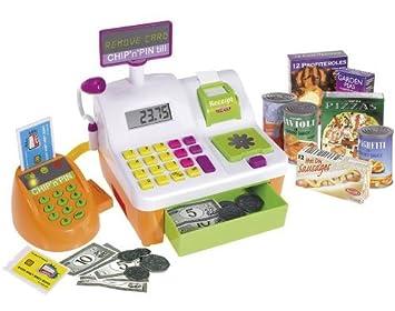 Casdon Chip n Pin - Caja registradora de juguete