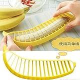Banana Slicer Cutter Chopper for Fruit Salad Sundaes Cereal Kitchen