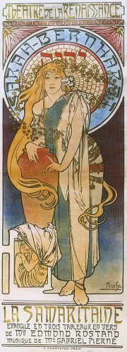 1897-la-samaritaine-theatre-renaissance-with-lady-sarah-bernhardt-by-alphonse-mucha-was-a-czech-art-