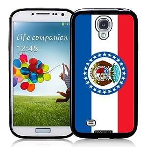 Flag of Missouri - Protective Designer BLACK Case - Fits Samsung Galaxy S4 i9500
