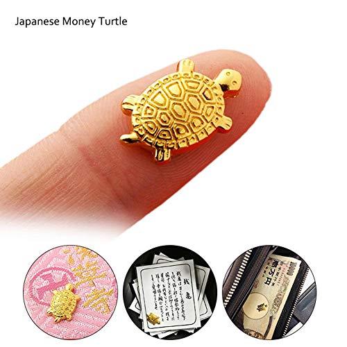 Hiplle Japanese Money Turtle, Small Golden Tortoise, Asakusa Temple, Golden Tortoise, Defensive Blessing, Fortune, Home furnishings
