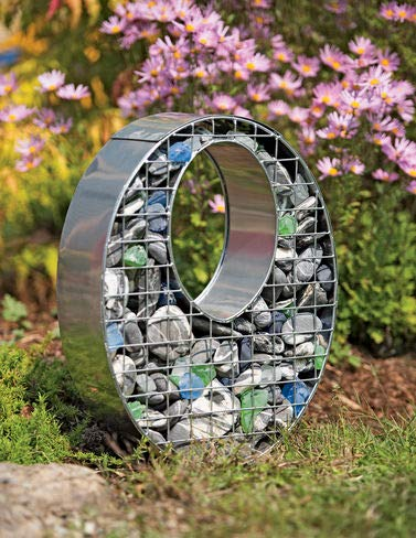 Gardener's Supply Company Decorative Oval Gabion Basket for sale  Delivered anywhere in USA