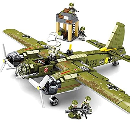 Ww2 Christmas Gifts.Buy Generic 559pcs Ww2 Military Series Swat German Bomber
