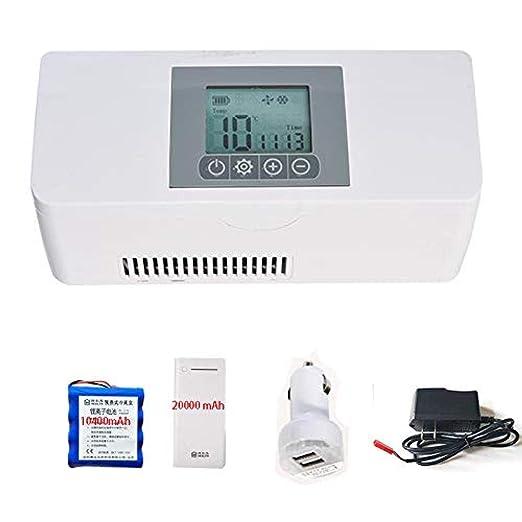 MGZDH Congelador de insulina portátil, refrigeradores de ...