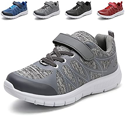 Toddler//Little Kid Hawkwell Kids Sneakers Boys Girls Breathable Lightweight Comfort Running Shoes
