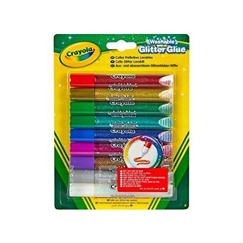 (Crayola Glitter Glue, 9-Count)