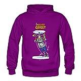 Women's Inspector Gadget Anime Hoodies Sweatshirt Size XXL US Purple