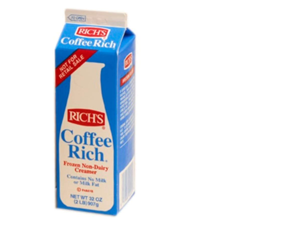 Coffee Rich Non-Dairy Creamer - 32 oz. carton, 12 cartons per case by Rich Products Corporation