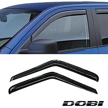 VioletLisa 2pcs Front 2 Door Smoke Sun/Rain Guard Vent Shade Window Visors  For