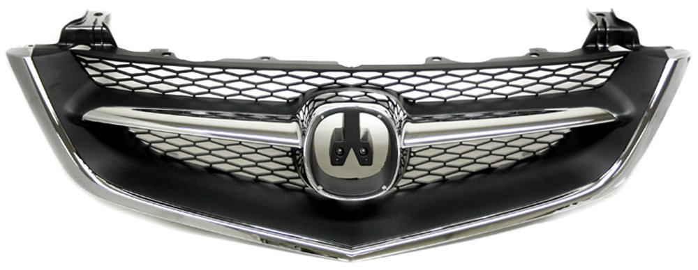 IPCW CWG-AC0207B0 Chrome//Black Replacement Grille