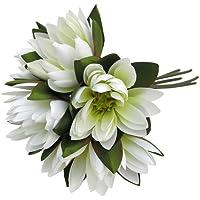 Primanova Dekoratif Çiçek Beyaz Nilüfer 6'Lı Buket D-D70124