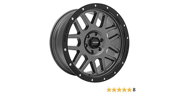 Pro Comp Alloys Series 40 Vertigo Dark Gray Wheel with Black Lip 17x9//6x5.5