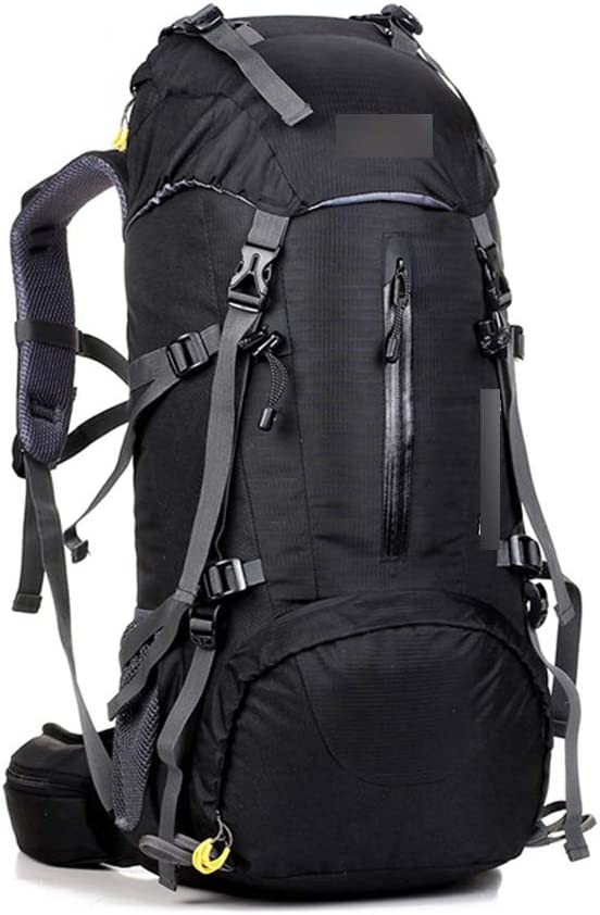 JITALFASH JITALFASH 50L Large Waterproof Travel Bags Rucksack Men Nylon Outdoor Camping Hiking Bicycle Backpacks Green