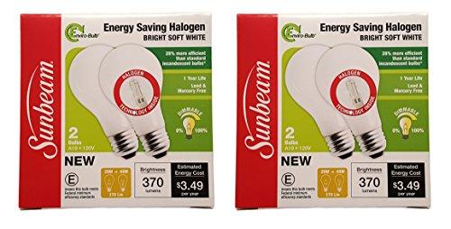 sunbeam halogen light bulbs - 9