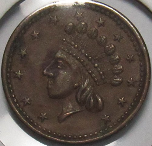 Indian Head Union For Ever Civil War Token