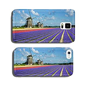 Flowers and windmills in Holland cell phone cover case iPhone6