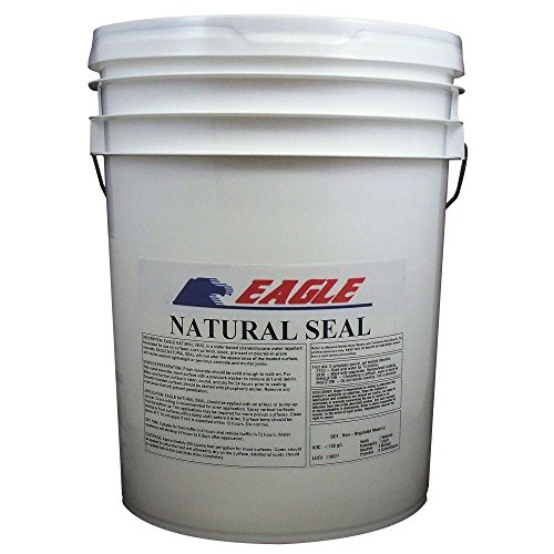 Eagle Sealer EM5 Clear Natural Seal, 5 gal Pail,(Not Sold in HI, PR, AK, GU, VI) by Eagle Sealer