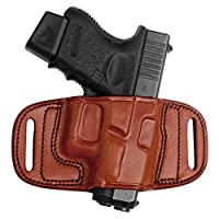 Tagua BH2-503 Quick Draw Belt Holster, HK 45 Auto, Brown, Left Hand