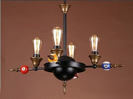 Onfly Estilo Industrial Retro lámpara de Techo de Hierro ...