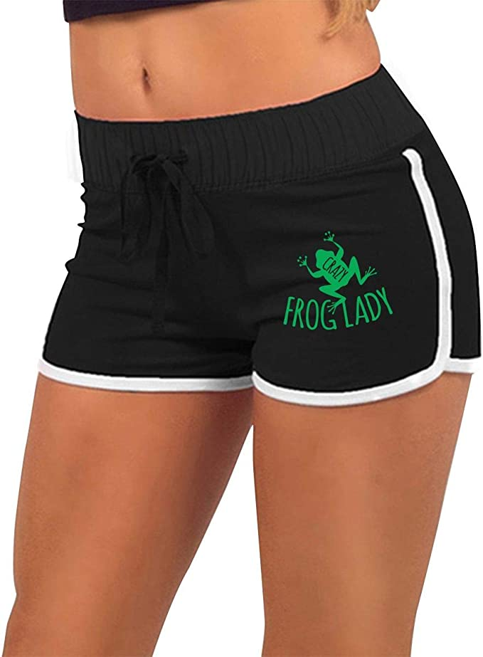 Yoga Shorts Mini Shorts for Women Unique Birthday Gift for Her Mardi Gras Beads Mini Shorts Festival Shorts Booty Shorts